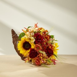 The FTD Fall Harvest Cornucopia by Better Homes and Gardens  from Inglis Florist in Tucson, AZ