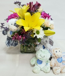 Baby Rattle and Roll<br>Inglis Florists from Inglis Florist in Tucson, AZ