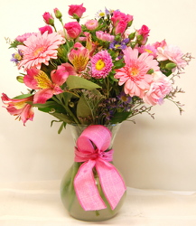 Think Pink Bouquet<br>Inglis Florists