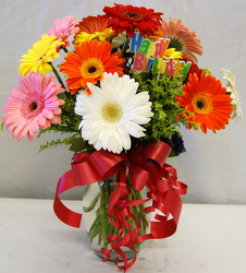 Inglis Florists Gorgeous Gerbera Bouquet from Inglis Florist in Tucson, AZ