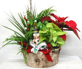 Holiday Ornament Dish Garden<br>Inglis Florists