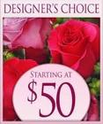 Designer's Choice $50 Bouquet<br>Inglis Florists