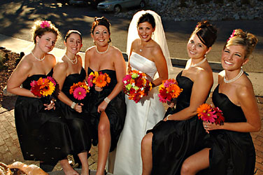 Bridal Party of 6 from Inglis Florist in Tucson, AZ