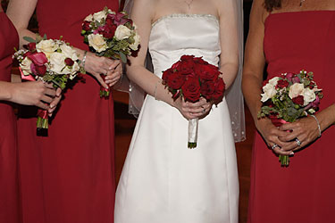 Red and White Party from Inglis Florist in Tucson, AZ