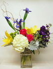 Polished Silver Bouquet<br>Inglis Florists