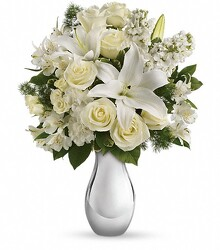 Inglis Shimmering White Bouquet from Inglis Florist in Tucson, AZ