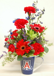 U of A Spirit Bouquet<br>Inglis Florists from Inglis Florist in Tucson, AZ