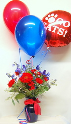 Wildcat Blooms and Balloons<br>Inglis Florists from Inglis Florist in Tucson, AZ