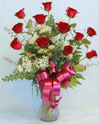 Dozen Red Roses<br>Inglis Florists from Inglis Florist in Tucson, AZ