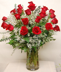 Inglis' Two Dozen Red Rose Bouquet from Inglis Florist in Tucson, AZ