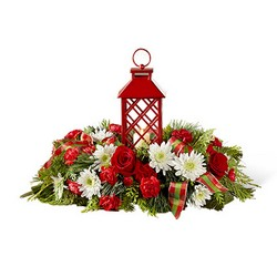 The FTD Celebrate the Season Centerpiece from Inglis Florist in Tucson, AZ