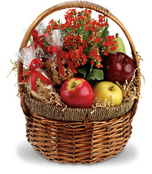 Health Nut Basket<br>Teleflora from Inglis Florist in Tucson, AZ