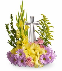 Crystal Cross Bouquet<br>Teleflora's  from Inglis Florist in Tucson, AZ