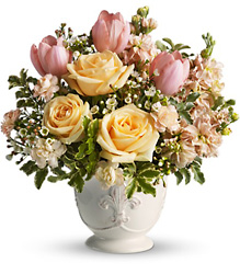 Teleflora's Peaches and Dreams from Inglis Florist in Tucson, AZ