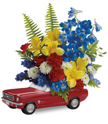 Teleflora's '65 Ford Mustang Bouquet  from Inglis Florist in Tucson, AZ