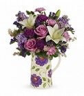 Teleflora's Garden Pitcher Bouquet