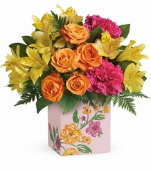 Teleflora's Painted Blossoms Bouquet from Inglis Florist in Tucson, AZ
