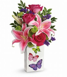 Teleflora's Brilliant Butterflies Bouquet from Inglis Florist in Tucson, AZ