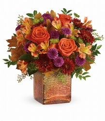 Teleflora's Golden Amber Bouquet from Inglis Florist in Tucson, AZ