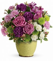 Teleflora's Spring Speckle Bouquet from Inglis Florist in Tucson, AZ