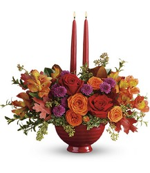 Teleflora's Brightest Bounty Centerpiece from Inglis Florist in Tucson, AZ