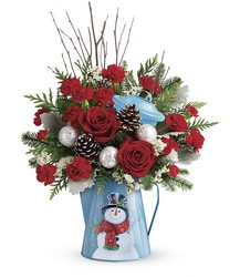 Teleflora's Snowy Daydreams Bouquet from Inglis Florist in Tucson, AZ
