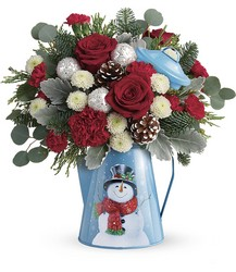 Teleflora's Frosty Enchantment Bouquet from Inglis Florist in Tucson, AZ
