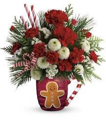 Send A Hug Winter Sips Bouquet by Teleflora from Inglis Florist in Tucson, AZ