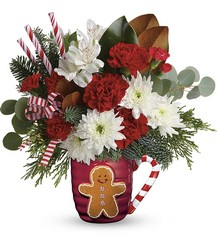Send A Hug Gingerbread Greetings Bouquet from Inglis Florist in Tucson, AZ