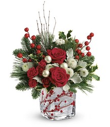 Teleflora's Winterberry Kisses Bouquet from Inglis Florist in Tucson, AZ