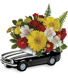 '67 Chevy Camaro Bouquet<br>Teleflora from Inglis Florist in Tucson, AZ