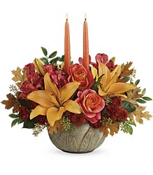 Teleflora's Artistic Glow Centerpiece from Inglis Florist in Tucson, AZ