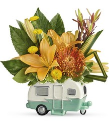 Vintage Vacationer Bouquet from Inglis Florist in Tucson, AZ