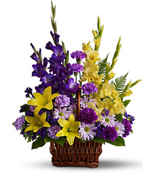 Basket of Memories<br>Teleflora from Inglis Florist in Tucson, AZ