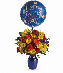 Fly Away Birthday Bouquet<br>Teleflora from Inglis Florist in Tucson, AZ