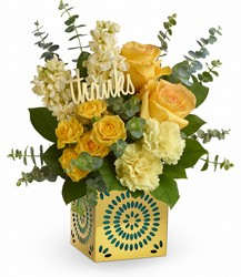Teleflora's Shimmer Of Thanks Bouquet from Inglis Florist in Tucson, AZ