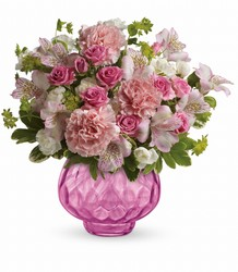Teleflora's Simply Pink Bouquet from Inglis Florist in Tucson, AZ