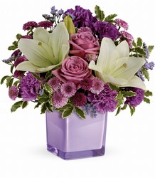 Teleflora's Pleasing Purple Bouquet from Inglis Florist in Tucson, AZ