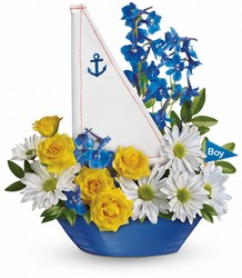 Ahoy It's A Boy Bouquet by Teleflora from Inglis Florist in Tucson, AZ