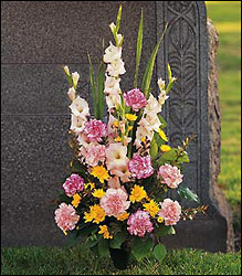 Graveside Remembrances from Inglis Florist in Tucson, AZ