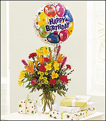 Birthday Balloon Bouquet from Inglis Florist in Tucson, AZ