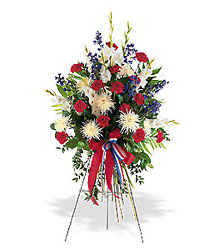 Patriotic Spirit Spray from Inglis Florist in Tucson, AZ