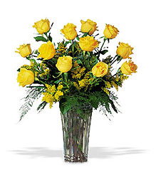A Dozen Yellow Roses from Inglis Florist in Tucson, AZ